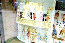 温泉小镇的店里看到美美哒毛衣链,继续童话般的小镇,奥赫热河流淌其中。
