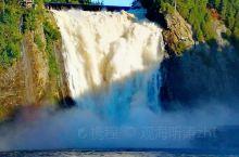 蒙特伦西瀑布位于魁北克市北方约1公里,这是蒙特伦西河从83公尺高的山壁垂直落下所形成,其高度是尼加拉