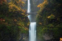 玫瑰之城最美瀑布——马特穆玛瀑布 Multnomah Falls  【全美第二大瀑布】 看过悠仙美地