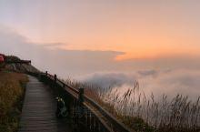 难忘的日出云海之旅,登顶金饶山,庆祝国庆70周年