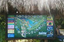 这是坎昆最大的一座水上游乐园,这里有宽阔美丽的沙滩,有多条地下暗河,也有茂密的原始森林,还有海上快艇