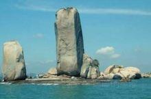 平潭的石牌洋景区,远远望去像美丽的帆船。