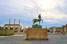 意大利·庞贝古城旅游掠影:         被火山无情掩埋的古城,一瞬间成为世界的永恒!