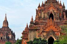 曼德勒的一个很古老的小镇,佛教的历史建筑很值得参观