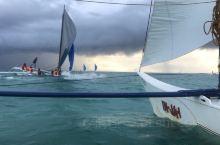 """海风吹,战鼓擂 本该岁月静好的""""落日风帆""""项目 变成了浩浩荡荡的快艇了..."""