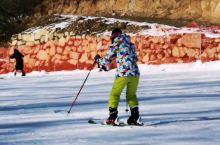 大美,保康横冲滑雪场,雪质好,设施齐全  横冲旅游景区