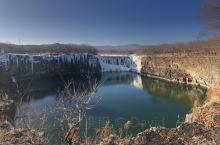 冬季的吊水楼瀑布