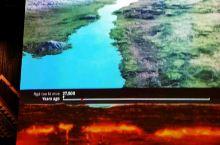 新西兰惠灵顿国家博物馆,视频模拟火山发时的景象,十分震撼。