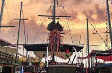 很有加勒比海盗的感觉,而且旁边就是网红打卡点,非常不错的安塔利亚