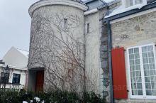 漂亮的城堡。在蒙特利尔的老城区哦。