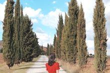 托斯卡纳,常常被评为意大利最美的部分!在我心中它就是最美的地方~~ 皮恩扎是托斯卡纳中世纪小镇之一,