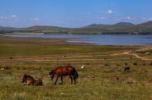 风景如画的闪电湖在河北沽源,是滦河上游最大的湖,因入湖前的河流为闪电河而得名,在高处俯视,湖的形状也