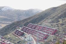 色达,每一处红房子都代表着一颗虔诚的心!