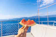 费特希耶跳岛游 如果你爱大海,喜欢那一抹蓝色,到了费特希耶,一定要体验下跳岛游   在旅行社或者你住
