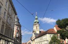 奥地利,格拉茨,步行街