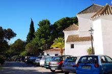 白色小镇米哈斯,登高远眺隔着地中海可以望到对面的非洲大陆。