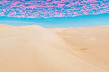 这是内蒙古的奈曼沙漠 一个离星星最近的地方  一段和幸福相拥的时光  这里保持着大隐隐于市,凡人的世