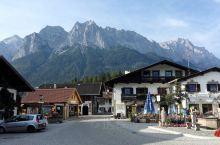 格莱瑙,楚格峰脚下美丽的小镇!