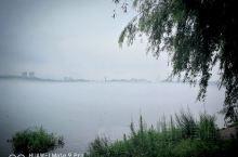 江边的早晨!有晨雾,有牵着狗散步的,有摄影爱好者,还有穿着鲜艳的衣服来拍照的大妈们 ,美不胜收!