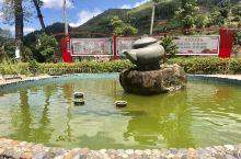 美丽的小山村-柘荣岭后村 村委会鱼池中的金鱼,一点儿不怕人,只要把手伸到水中,鱼儿就会游过来啄手,很