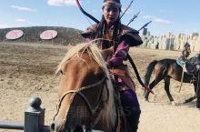 蒙古风情,草原姑娘真美……