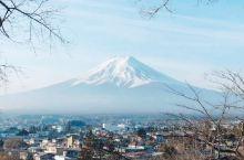 远眺富士山!