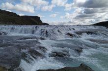 冰岛雷克雅未克黄金大瀑布。