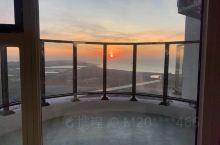 今天的日出美丽的东戴河山海同湾