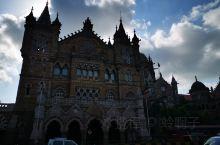 孟买的火车站