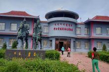 兴安盟科尔沁右翼前旗,简称科右前旗,旗政府在乌兰浩特市西面。 这是旗满族屯博物馆。