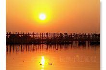 乌本桥日落