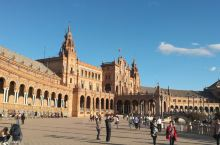 欧洲颜值爆表的广场,塞维利亚西班牙广场,安达卢西亚大区