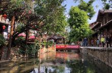 4月的丽江古城在党中央打黑除恶治理旅游环境的浩大声势中给游客留下了难忘的好印象!