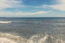 白浪           追           沙滩