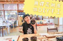 用樱花和樱皮做DIY的日本手工大体验!  来到日本最喜欢的就是做手工体验。  这次我选择了只有在秋田