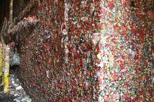 西雅图网红口香糖墙