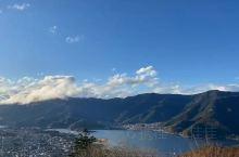 带你去看睛空万里,远眺富士山,手机随拍都这么美 河口湖
