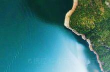航拍下的清江大峡谷