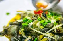 我们经常吃到的各种大小鲍鱼,大都是养殖的,在花鸟岛吃到的东海野生小鲍鱼长这样,爆炒或盐水煮,喜欢的可
