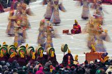 拉卜楞寺的冬天法会