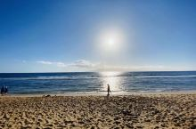 夏威夷卡纳帕利海滩一