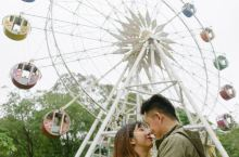 情人节 如何跟男朋友在游乐场拍情侣照 虽然现在疫情当下,但是学起来等疫情过去了就可以带着男朋友拍照啦