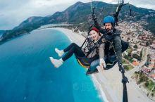 来费特希耶一定不要错过滑翔伞‼️简直太好玩啦💖 🔻 一点都不吓人完全不用害怕,我的两个小伙伴都恐高但