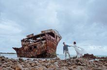 如果说 非要一个来南非的理由, 这艘搁浅在厄加勒斯角废弃的日本渔船绝对是理由之一!