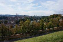 玫瑰园可以俯瞰伯尔尼的城市景色