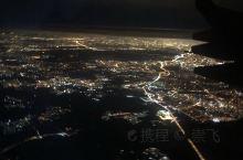 飞机俯视视角…漂亮!