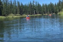Kayaking and rafting on Deshutes river I can do th