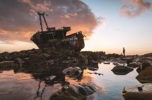 """在南非,我们找到现实版的""""当一艘船沉入海里"""" 在非洲大陆旅行了将近一年,我们终于来到非洲最南端的厄加"""