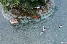 泳池的水可以喝,这个冷泉滩太好玩啦 票价66元