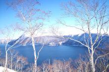 钏路旅游超经典一日游,鹤见台、摩周湖、硫磺山、屈斜路湖、阿寒湖,砂汤天鹅湖泡足汤,最后一张在阿寒湖的